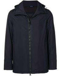 Dell'Oglio パデッドジャケット - ブルー