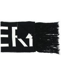 A_COLD_WALL* ロゴ スカーフ - ブラック