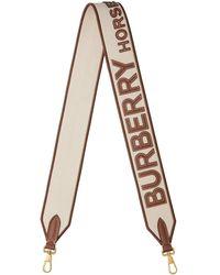Burberry Bride portée épaule à imprimé Horseferry - Marron