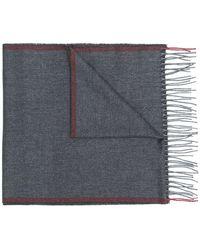 Corneliani - Fringed scarf - Lyst