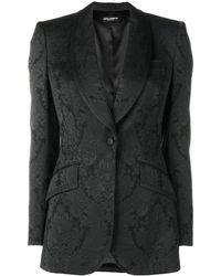 Dolce & Gabbana - ブロケード テーラードジャケット - Lyst