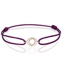 TinyOm Ajna Chakra Bracelet - Pink