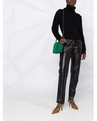 Dolce & Gabbana カシミア ケーブルニットセーター - ブラック
