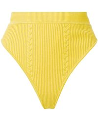 Versace - High Waisted Shorts - Lyst