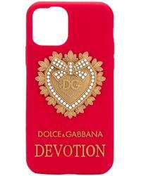 Dolce & Gabbana Devotion Iphone 11 Pro Case - Red