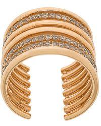 Elise Dray - Embellished Stack Ring - Lyst
