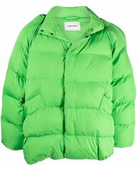 Henrik Vibskov Filo High-neck Padded Jacket - Green