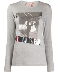 N°21 - プリント Tシャツ - Lyst