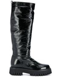 Casadei Knee-high Boots - Black
