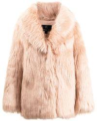 Unreal Fur Premium Rose Jacke - Pink