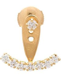 Yvonne Léon - Diamond Stud Earring - Lyst