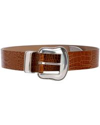 B-Low The Belt Calf Leather Belt - Brown