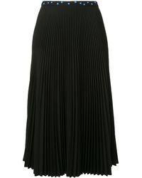 Markus Lupfer プリーツスカート - ブラック