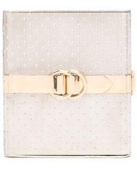 Hermès Компактная Пудреница 1980-х Годов - Металлик