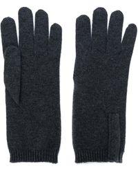 Brunello Cucinelli Кашемировые Перчатки - Серый