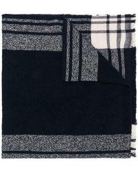 Zanone - Striped Scarf - Lyst