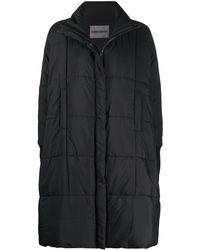 Henrik Vibskov オーバーサイズ パデッドコート - ブラック