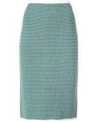 Diane von Furstenberg - Knitted Skirt - Lyst