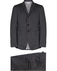 Thom Browne ヘリンボーン シングルスーツ - グレー