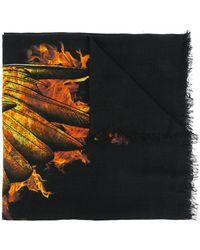 Marcelo Burlon - Ellas Fire Print Scarf - Lyst