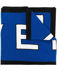 Givenchy Шарф С Логотипами 4g - Синий