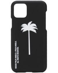 Palm Angels Palm Tree Iphone 11 Case - Black