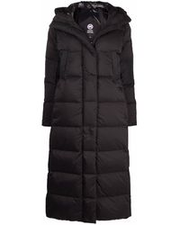 Canada Goose Backpack-strap Feather Down Coat - Black