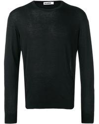Jil Sander ロングtシャツ - ブラック