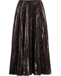 Ralph Lauren Collection スパンコール スカート - ブラウン