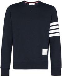 Thom Browne - 4barジャージー スウェットシャツ - Lyst