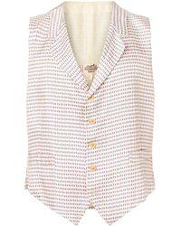 Hermès Жилет 1990-го Года С Флагом Франции Pre-owned - Белый