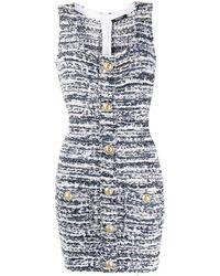 Balmain - ボタンディテール ドレス - Lyst