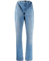 Y. Project - Jeans sartoriale - Lyst