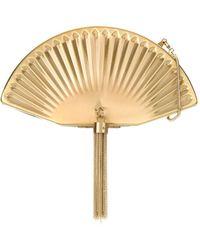 Isla - Tassel Detailing Fan Clutch Bag - Lyst