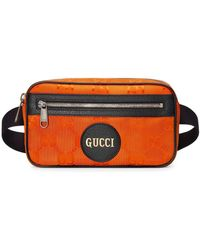 Gucci Поясная Сумка Off The Grid - Оранжевый
