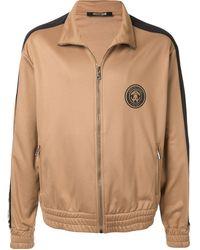 Roberto Cavalli Куртка На Молнии С Логотипом - Коричневый