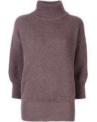 Agnona - カシミア タートルネックセーター - Lyst