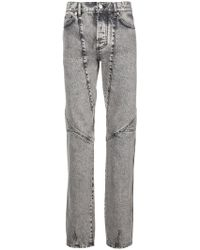 Givenchy - Panelled Straight Leg Jeans - Lyst