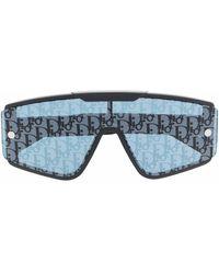 Dior Солнцезащитные Очки Diorxtrem Со Сменными Линзами - Черный