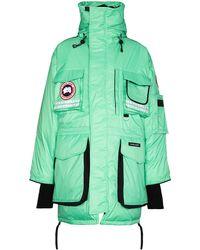Canada Goose Snow Mantra パーカーコート - グリーン