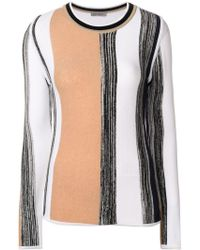 Sportmax - Striped Sweater - Lyst