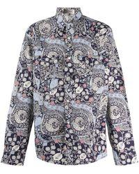 Isabel Marant Рубашка С Длинными Рукавами И Принтом - Черный