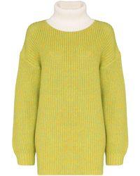 Tibi オーバーサイズ セーター - マルチカラー
