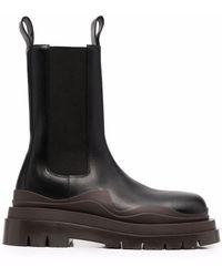 Bottega Veneta Tire Chunky-sole Boots - Black