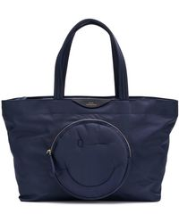 Anya Hindmarch - Large Chubby Smiley Tote - Lyst