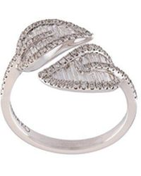 Anita Ko - Diamond Small Leaf Ring - Lyst