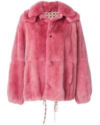 Marni | Oversized Panelled Coat | Lyst