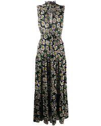 M Missoni フローラル ドレス - ブラック