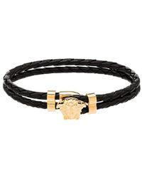 Versace Verfraaide Armband - Zwart