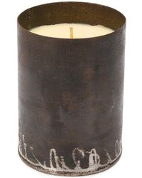 Parts Of 4 500ml 75 Hours Lemongrass Candle - Brown